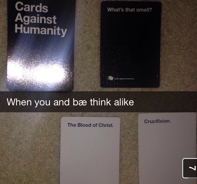 cards against humanity - meme