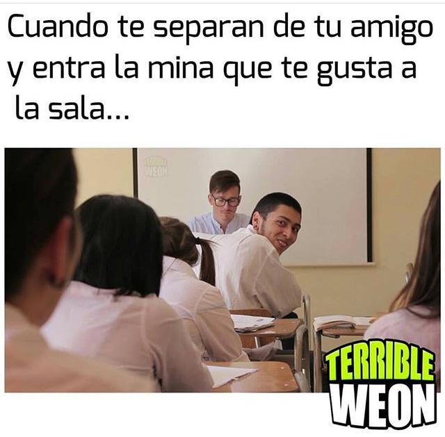 Típica la wea - meme