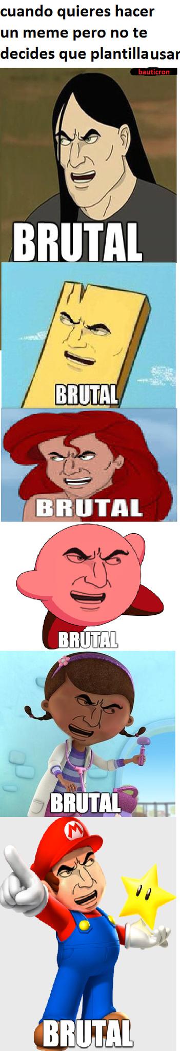 eso si es brutal - meme