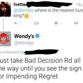Wendy's savage