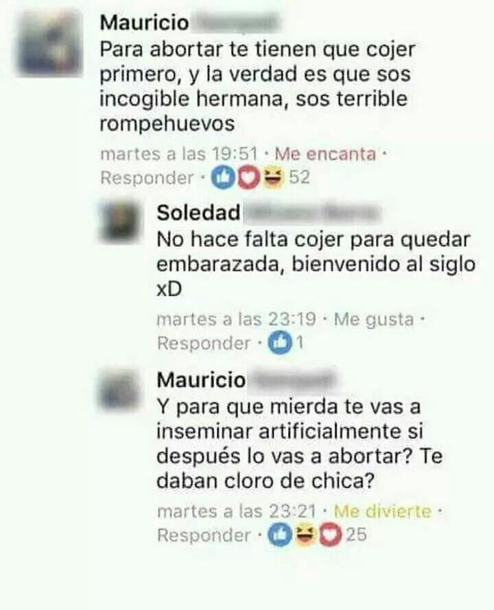 JUSTO EN EL FEMINISMO - meme