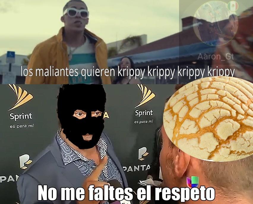 No me faltes al respeto krippy - meme