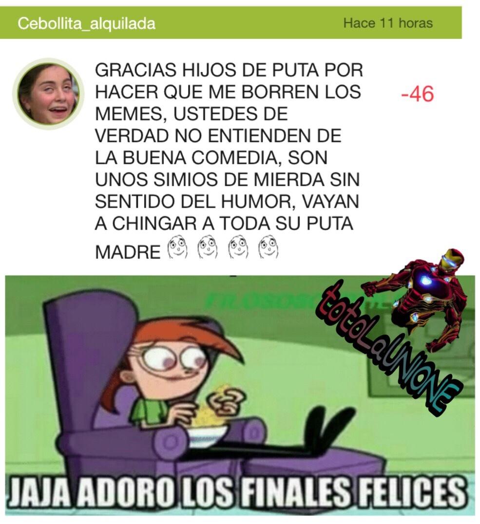 es verdad los de cebollita_alquilada vean su perfil - meme
