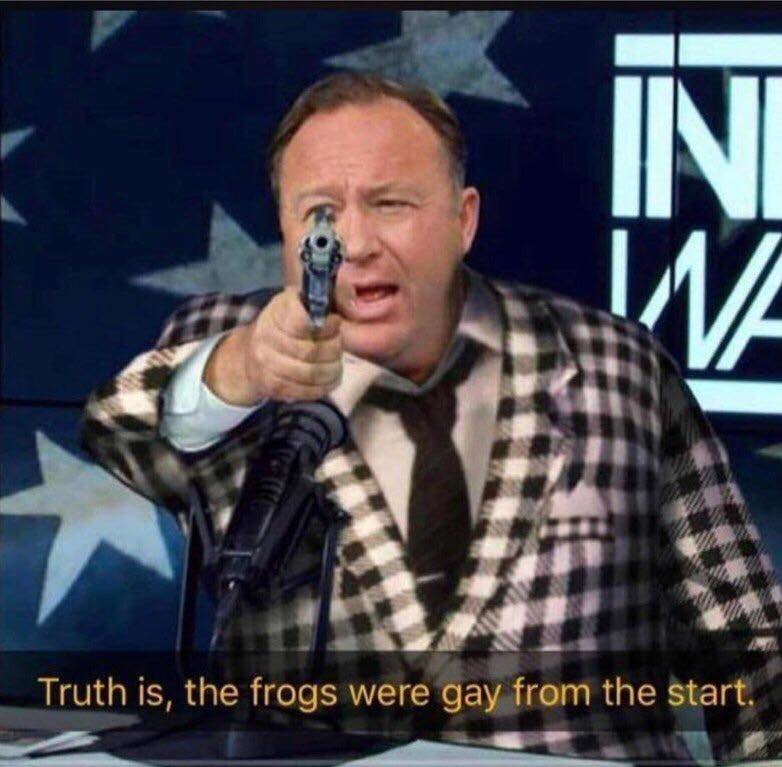 dongs in a frog - meme