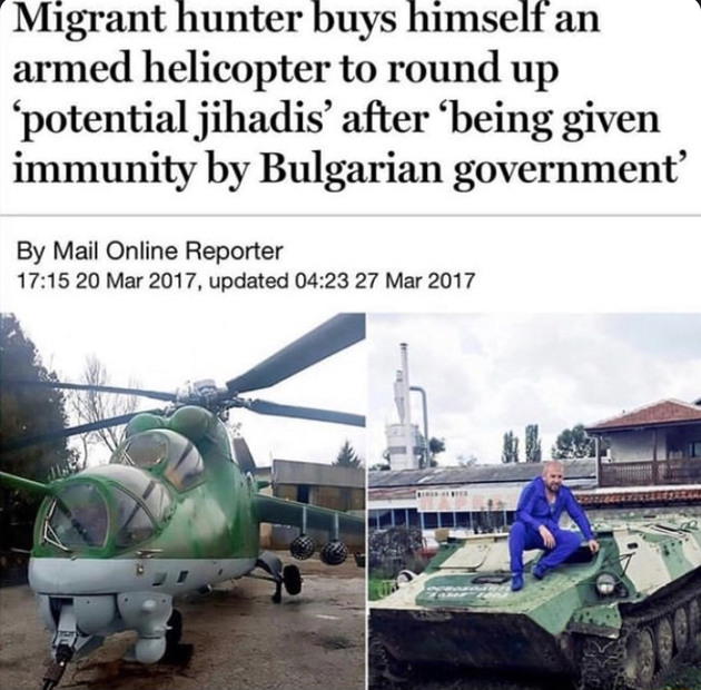 Migrant Hunter - meme