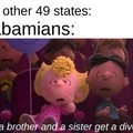 *Sweet home Alabama intensifies*