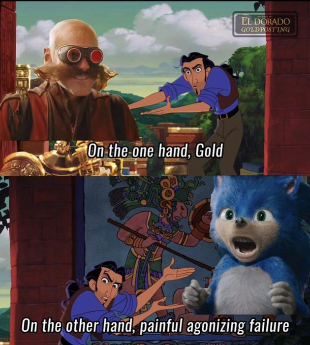 I hope Robotnik wins - meme