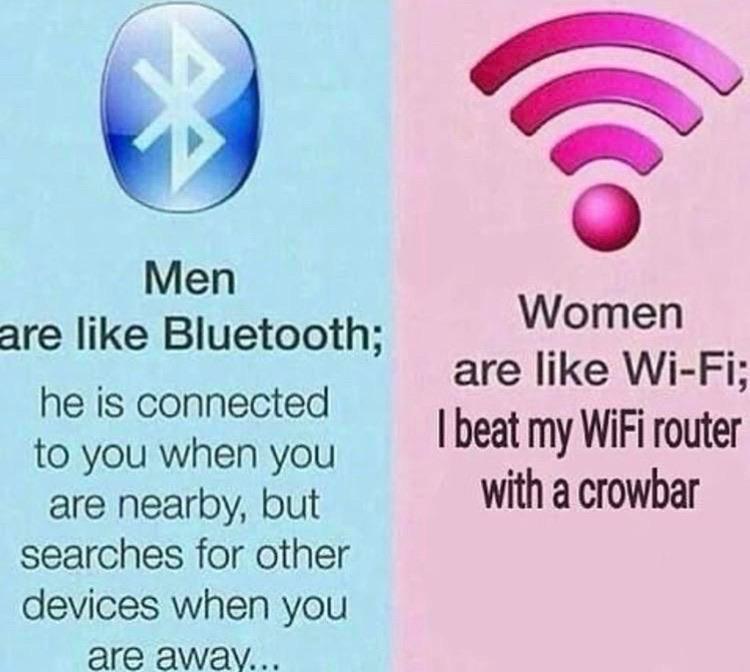 Beat that Wi-Fi. - meme