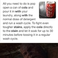 original content... tried to remove coke off my jacket and saw this online