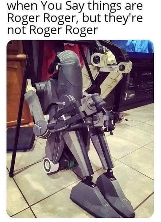 *Sad droid noises* - meme