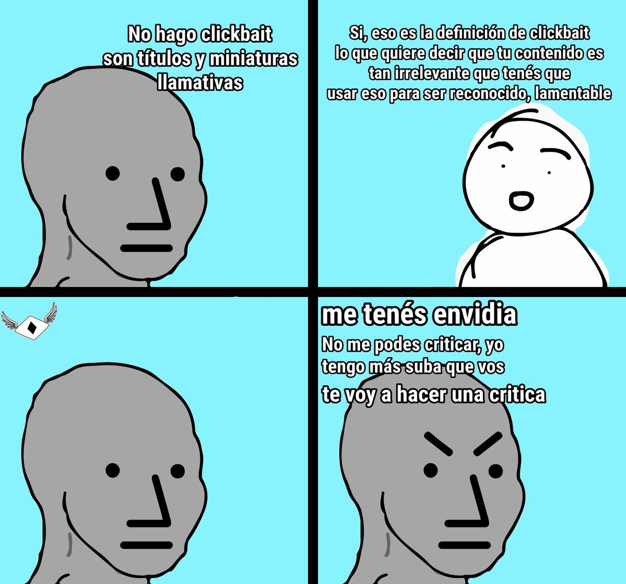 Típico de clickbaiteros - meme