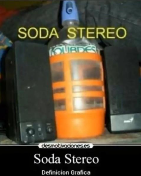 SODA STEREO - meme