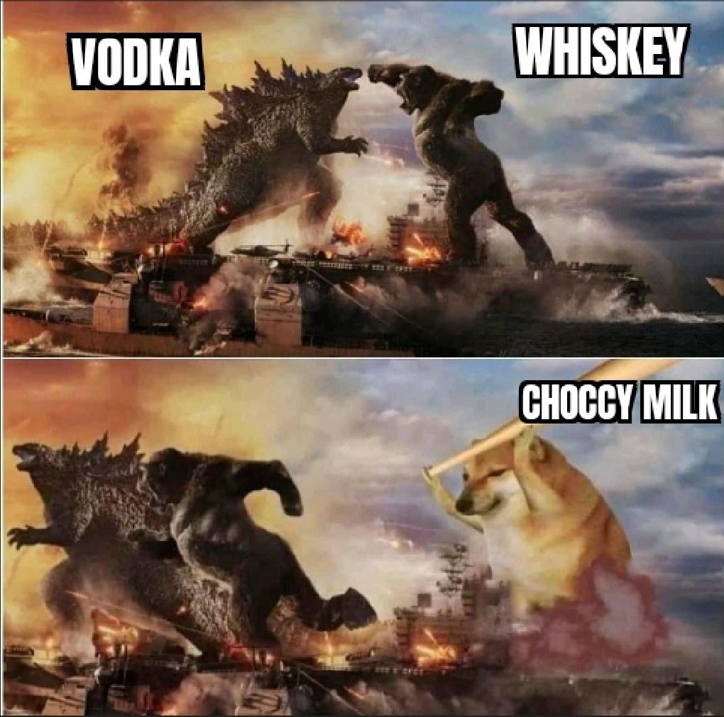 strawberry milk tho the unsung hero - meme