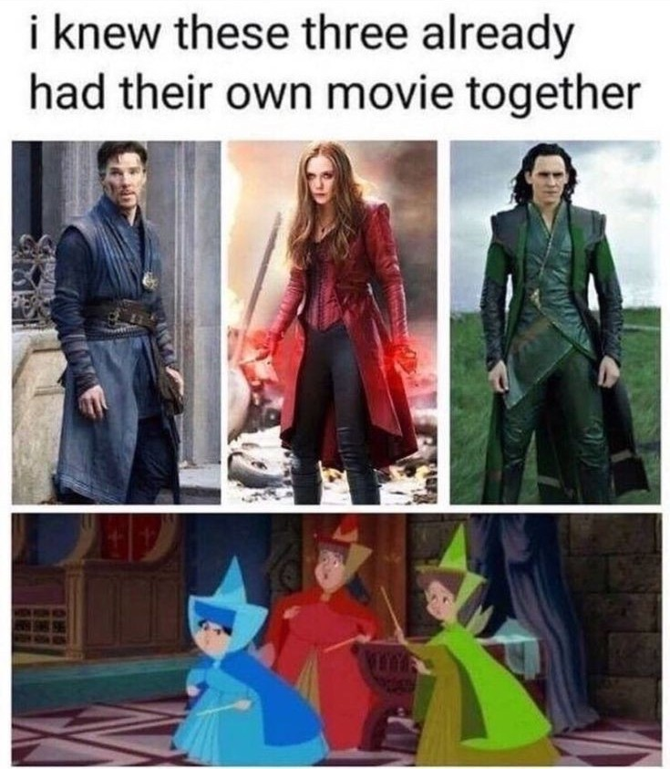 Marvel fairies - meme