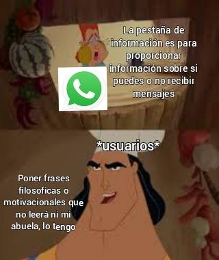El wasap - meme
