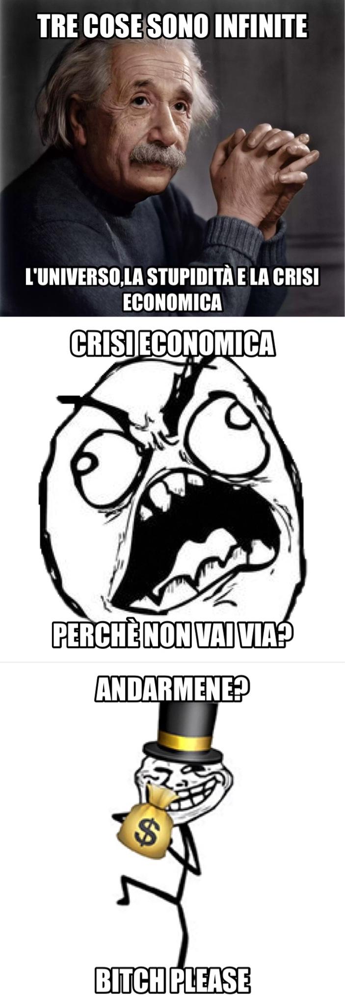 Cito la crisi - meme