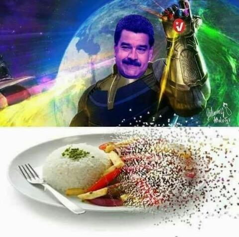 Maduro está duro - meme