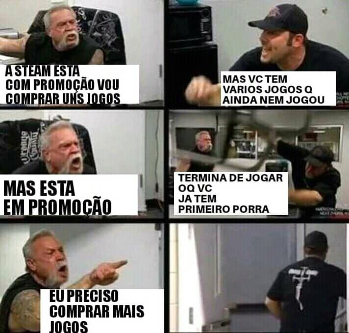 QUERO MAIS JOGOS PORA - meme
