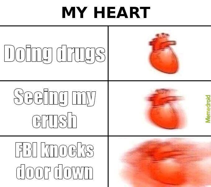 My heart - meme
