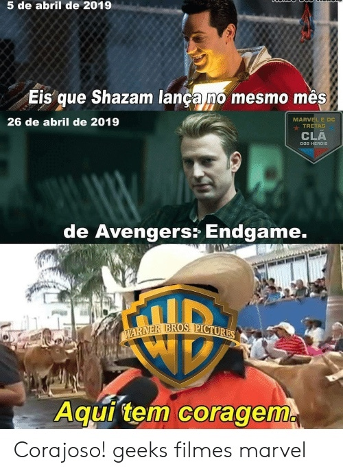 a Warner eh braba mesmo - meme
