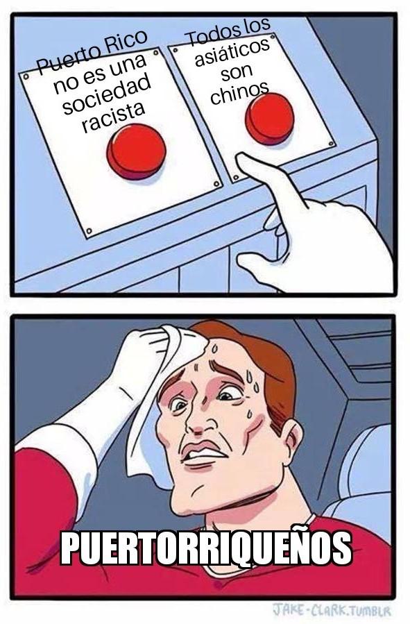Puertorriqueños - meme