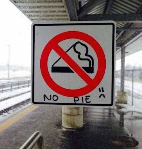 """It actually means """"No Smoking"""" if you didn't know - meme"""
