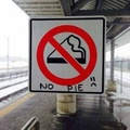 """It actually means """"No Smoking"""" if you didn't know"""