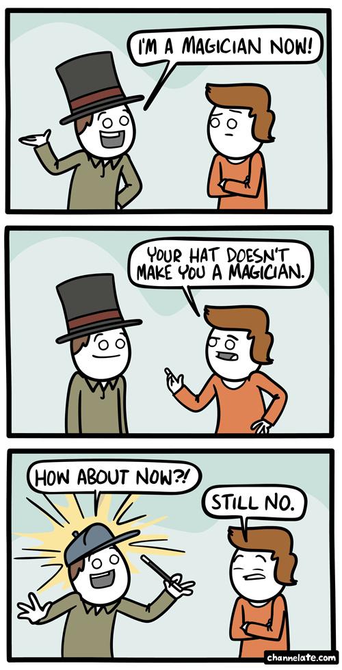 i'm a magician now - meme