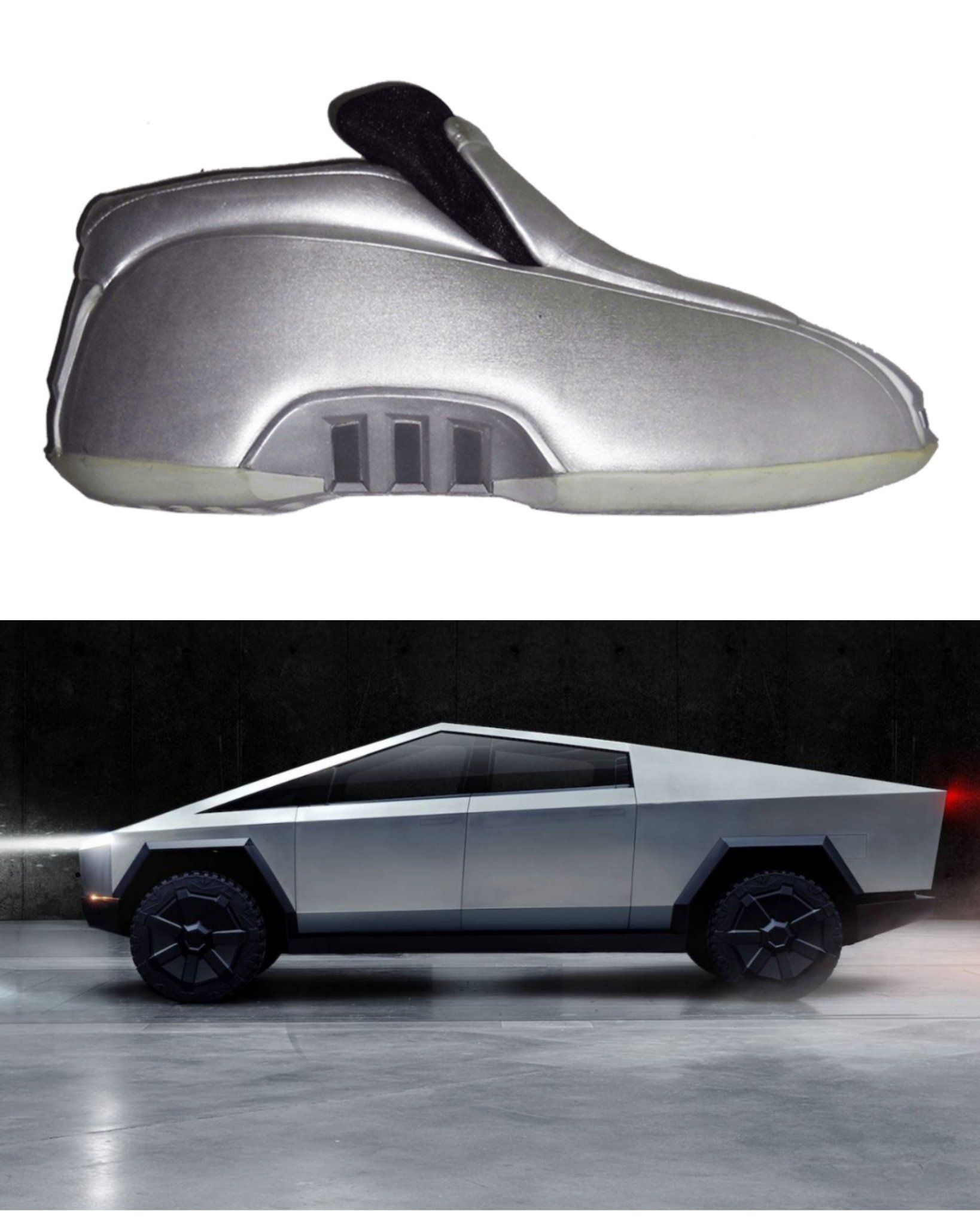 Tesla shoes - meme