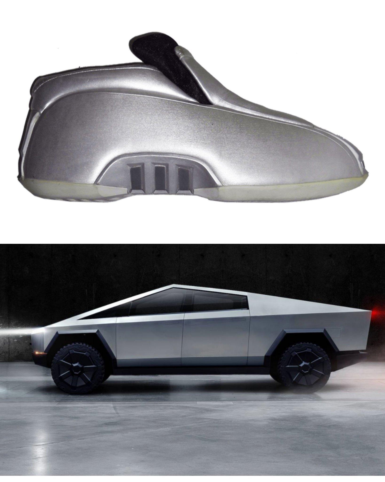 Tesla shoes - meme