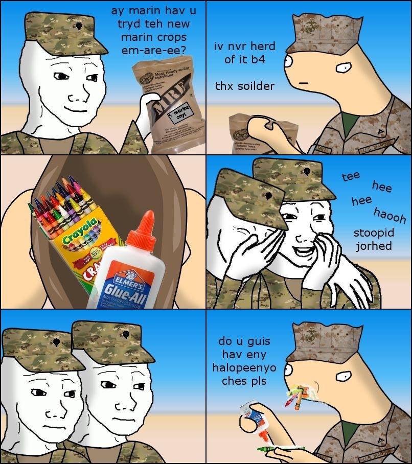 Marine MRE - meme