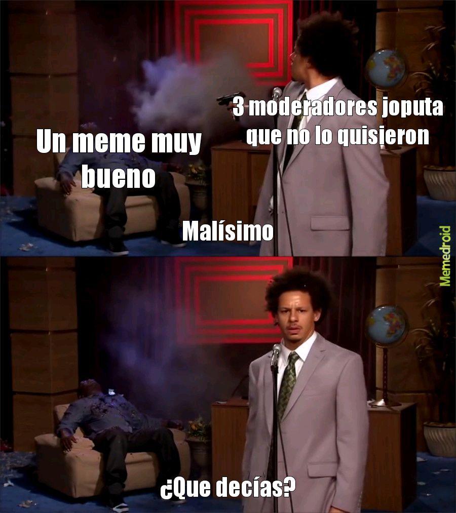 Pinchis malos - meme