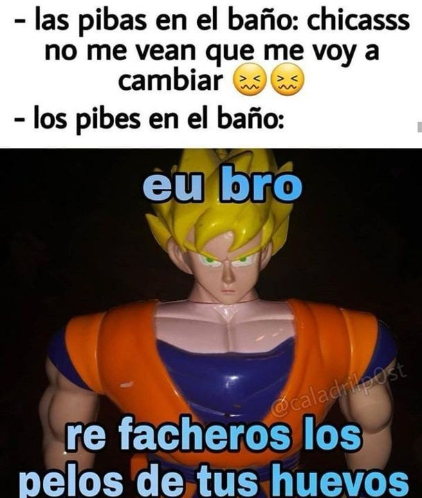 LAS PIBAS VS LOS PIBES REFACHEROS - meme