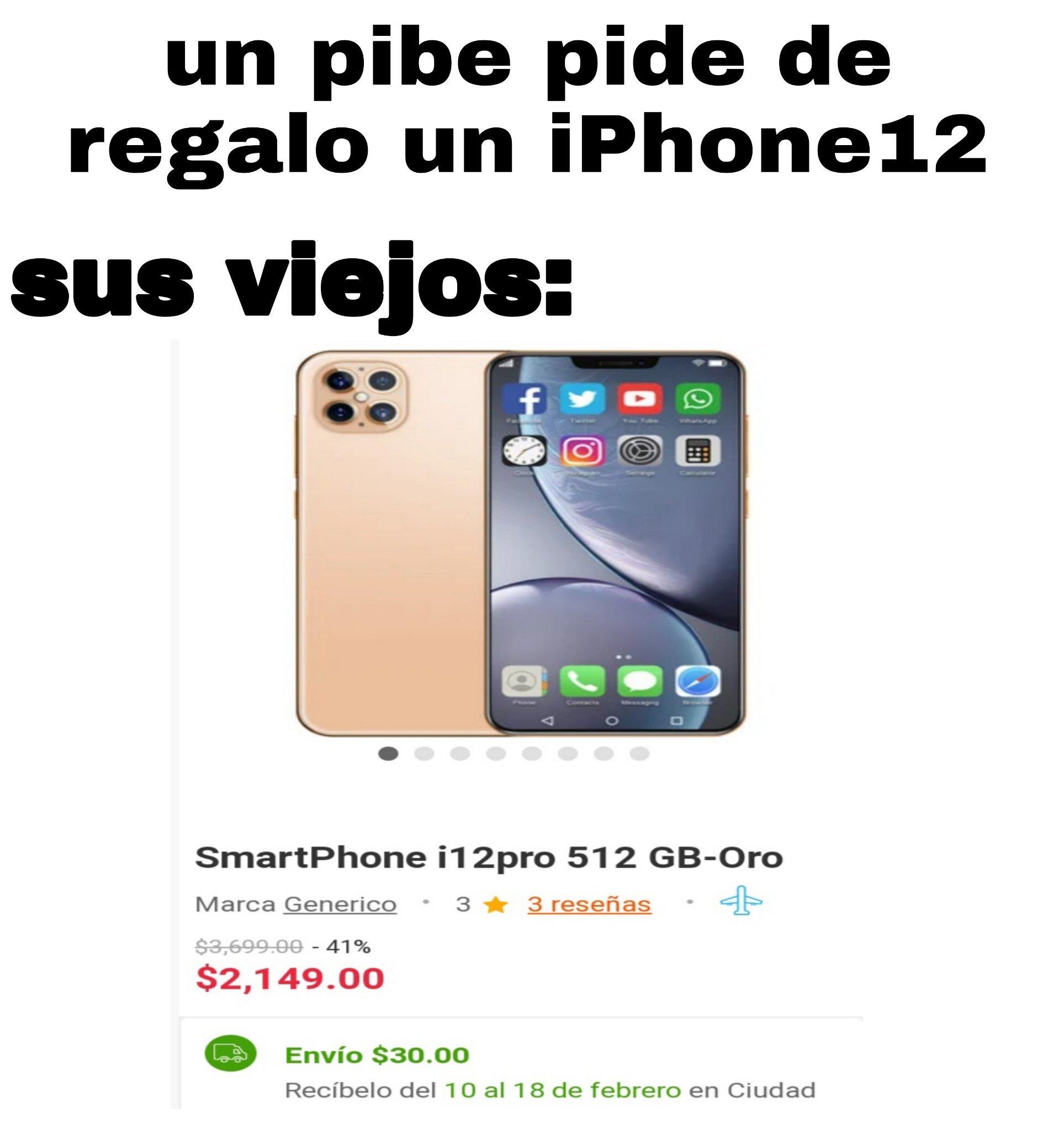 iPhone 12 - meme