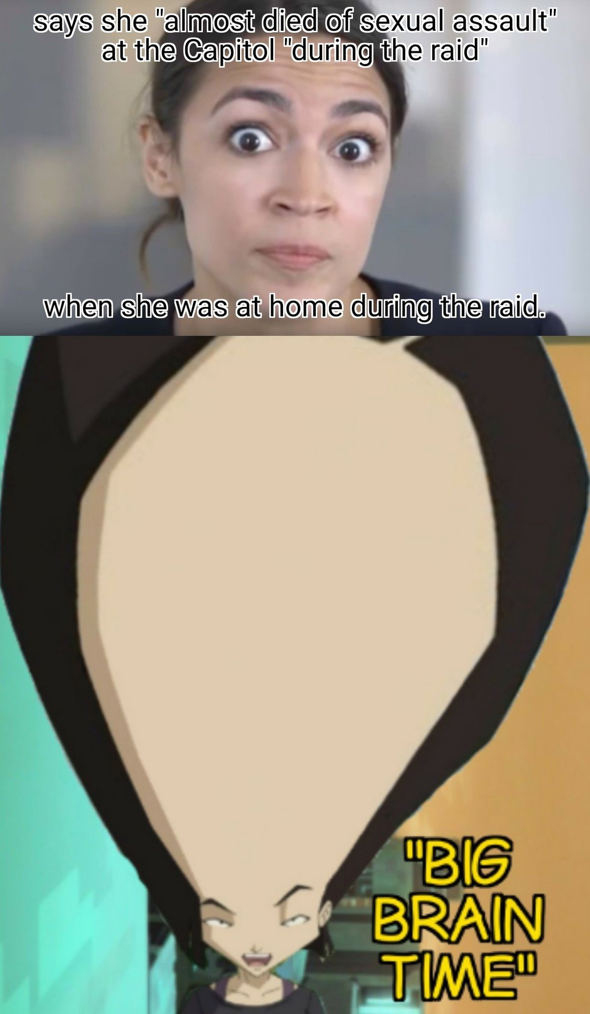 Sorry if not right format. I just worked hard on the edit of her huge fucking forehead - meme