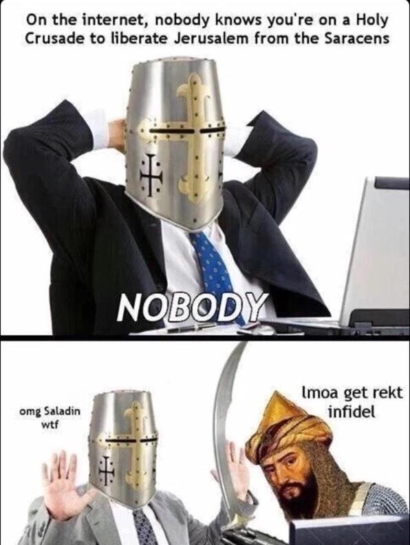 Nobody knows - meme