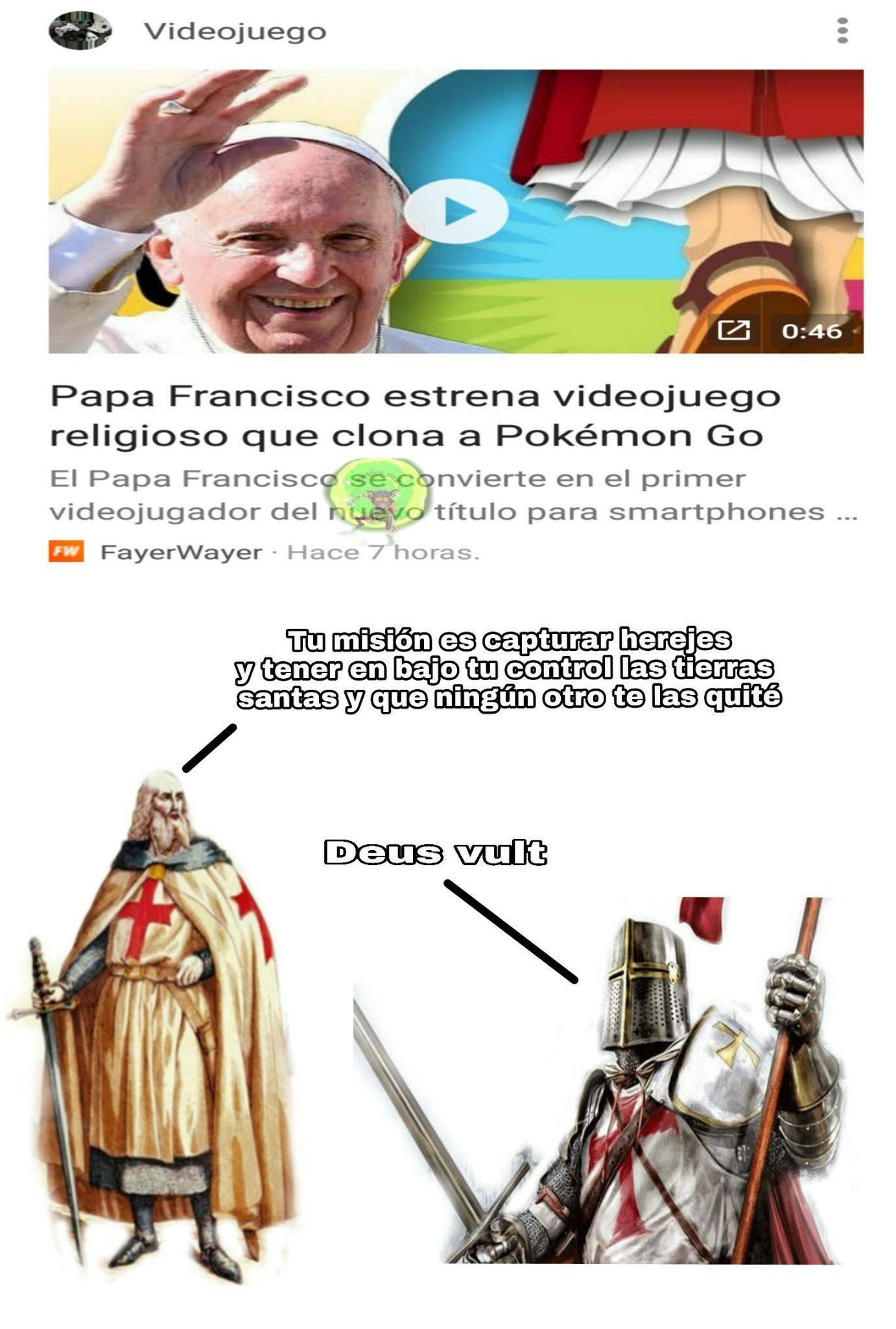 Deus vult - meme