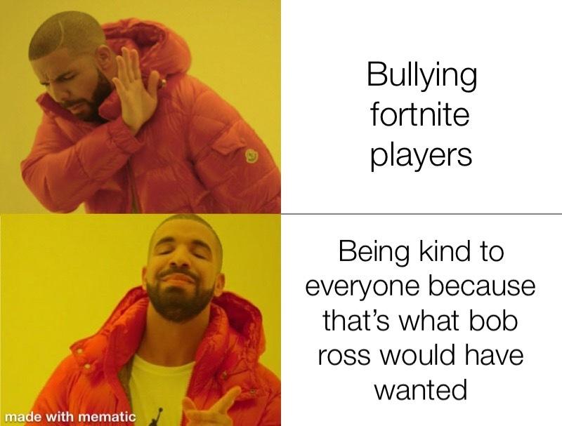 Bob Ross approves - meme