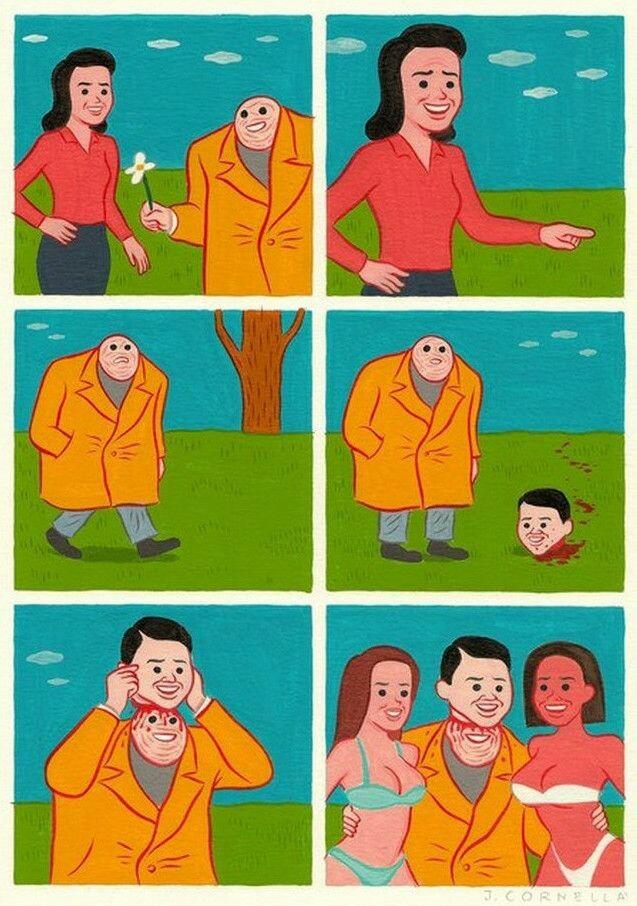 Bonitão ×_× - meme