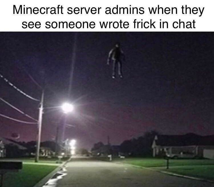 no on my Christian server - meme