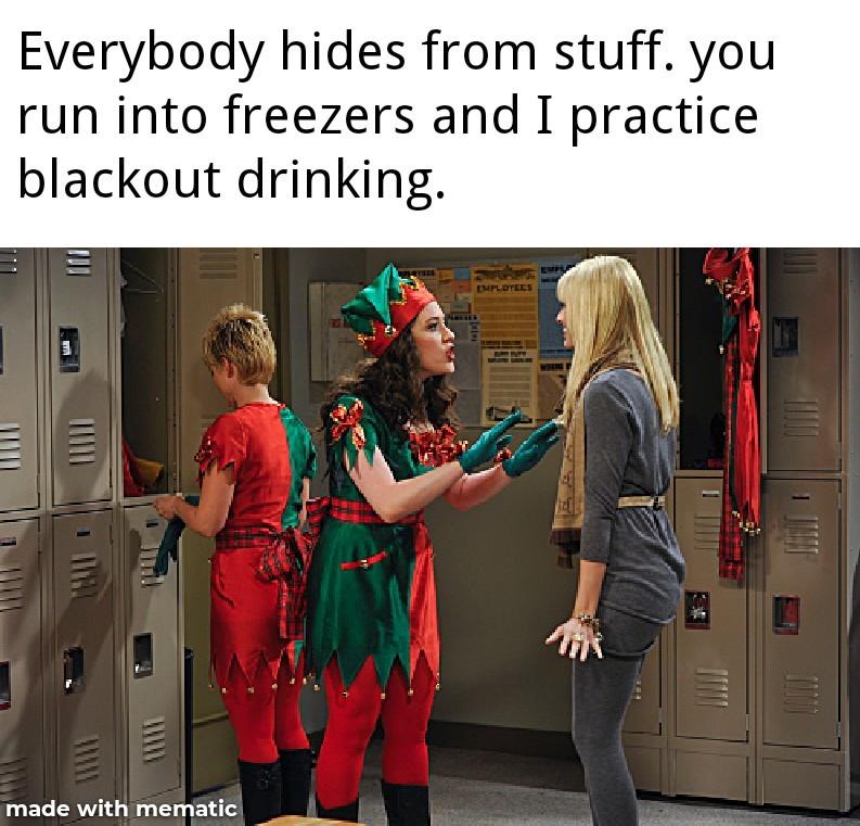 Holiday cheers - meme