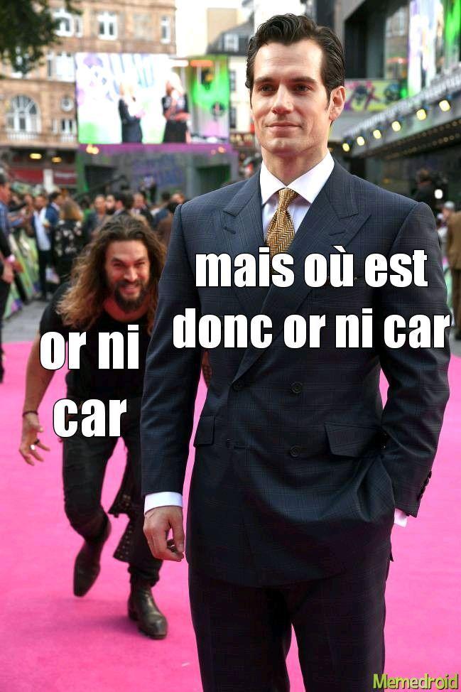 or ni car - meme