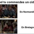 Ah les Bretons tjrs a vouloir faire différemment