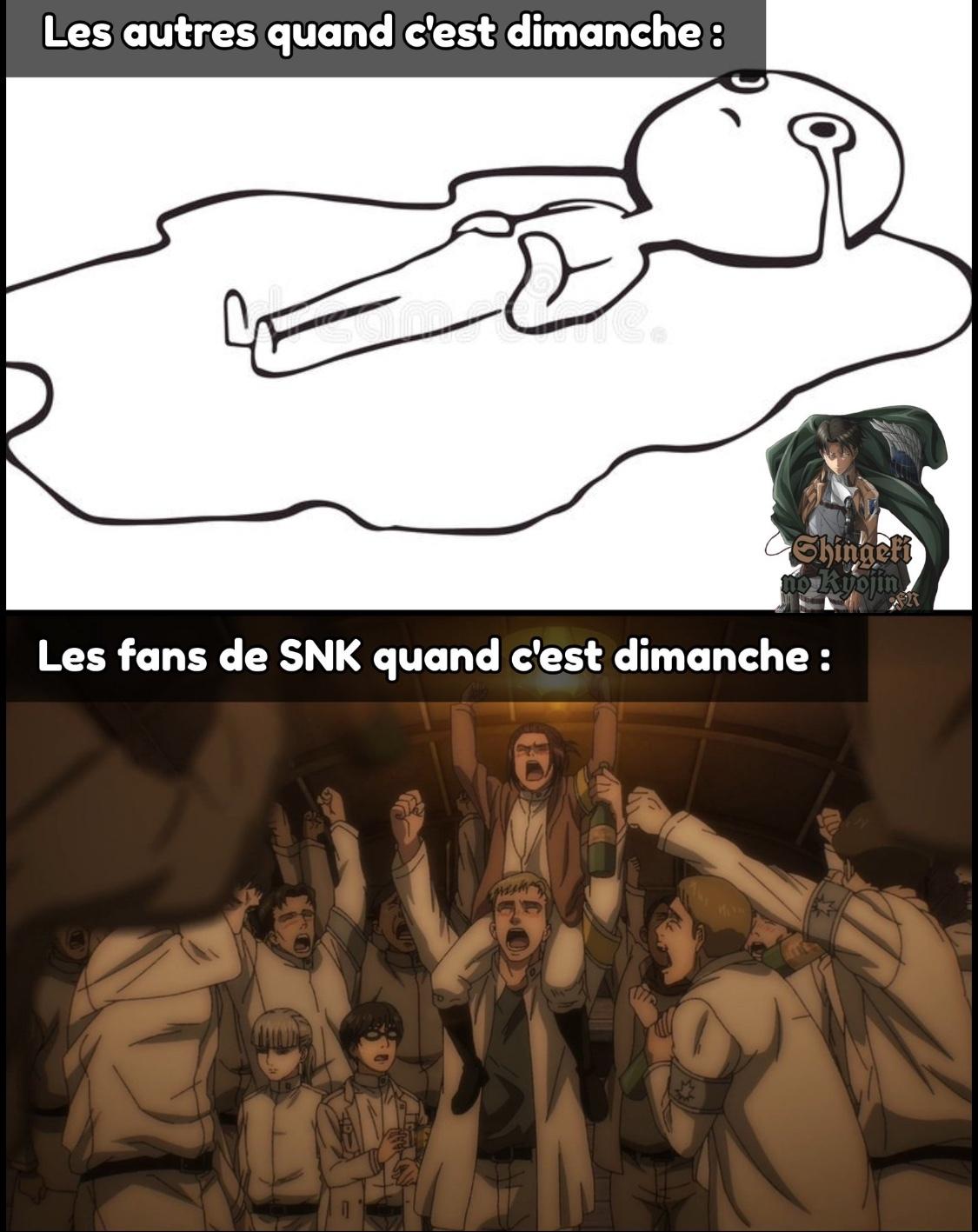 Les only anime on est ensemble ! - meme