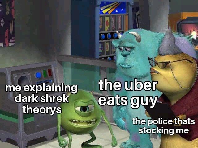 Shrek theorys - meme