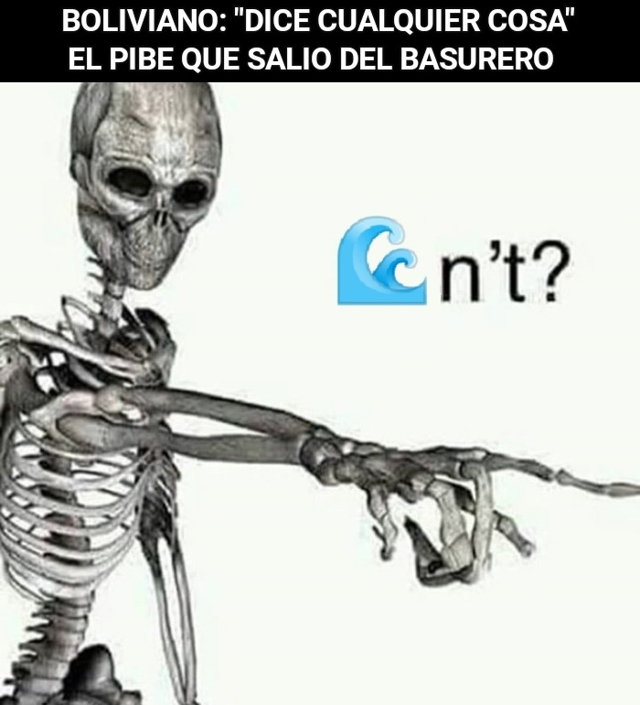 Bolivia no tiene mar, rianse - meme