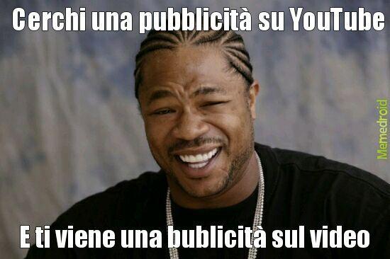 Pubblicità dentro pubblicità - meme