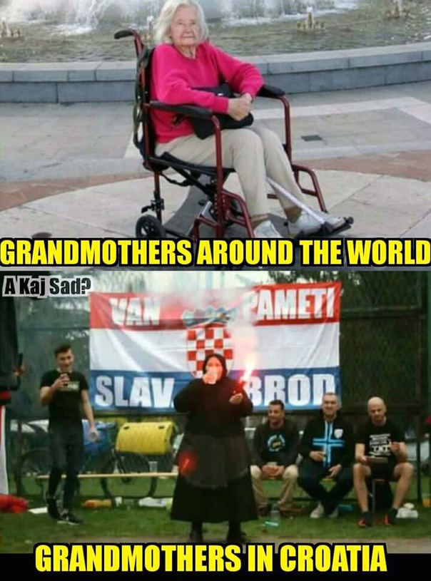 Grandmothers - meme