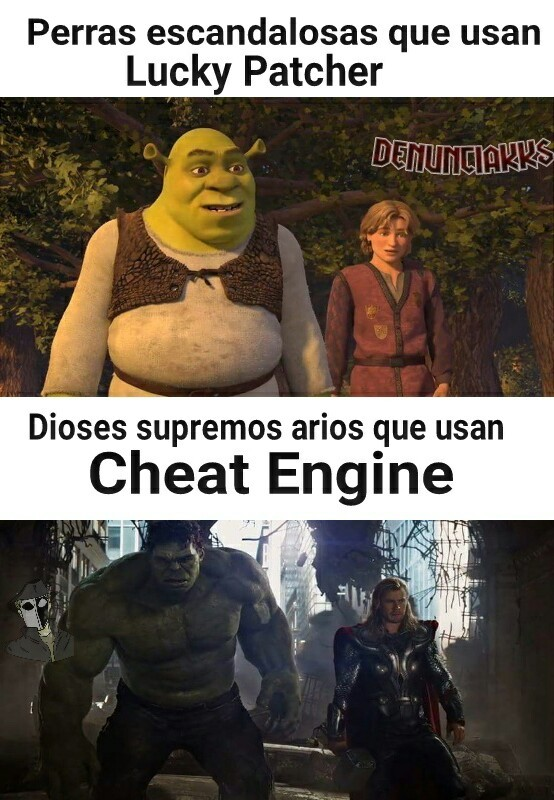 Cheat Engine>>>Todo - meme