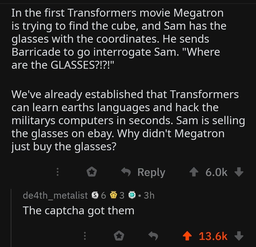 All fear the mighty captcha - meme